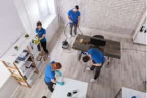 CRS Movers office cleaning services