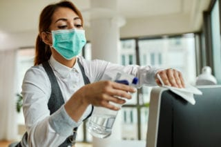 corporate office cleanings